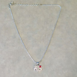 Hello Kitty Necklace with flower